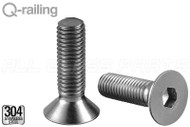 "Flat Head Machine Screw (M10 13/16"") (1-3/16"" Length) (Indoor)"