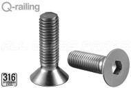 "Flat Head Machine Screw (M10 13/16"") (1-3/16"" Length)"