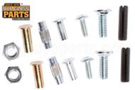 Axle Kit For Repair of Glass Door Rollers