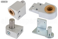 Commercial Door Pivot (Kit Set) (Right) (Zimmcor) (Aluminum)