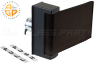 Paddle Handle for Latch Lock c/w Cam (Right)  (Bronze)