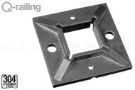 Square Line Welding Flange For Square Line Post 1.57'' X 1.57'' (40mm X 40mm)