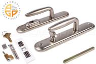 Multi-Point Door Handle (Brushed Nickel) (Truth Sentry Multi-Point Lock)