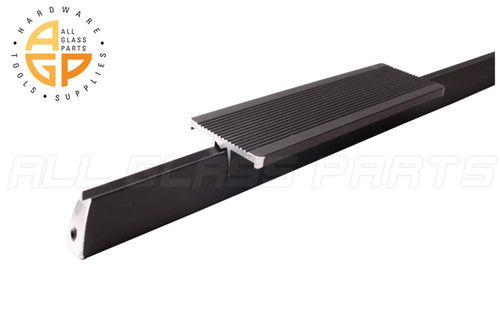 Push Bar And Plate For 35 Quot Door Bronze All Glass Parts