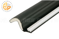 "Foam-Tite Kerf Mounted Weatherseal (Black) (97"" Length)"