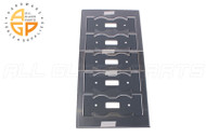 Quintuple Mirror Plates (Toggle (5)) (Black)