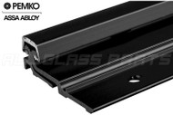 """Continuous Geared Hinge (Full Surface Mount) (Black) (Heavy Duty) (Length 85"""")"""