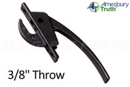 Locking Handle (Truth Hardware 24.10) (Black)