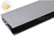 Auto Door Sweep (Anodized Aluminum) (Neoprene) (3' Length)