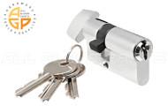 Commercial Door European Cylinder w/Key Standard Length