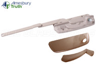 Split Arm Casement Window Operator with Handle  (Replaces Maxim Dyad 50.50) (Right) (Coppertone)