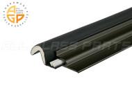 Foam-Tite Retrofit Door Weatherstripping for Standard Door (Black)