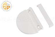 Screen Door Handle (White) (Roto)