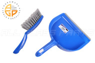 "Dustpan & Counter Brush (9"")"