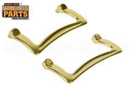 Shower Door Handle (Brass) (Set)