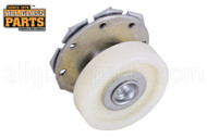Shower Door Roller (White) (7/8'' Dia.) (with Housing)