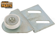 Shower Door Roller Assembly (White) (2-3/8'' Length)