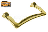 Shower Door Handle with Stud (Brass)