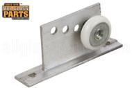 Shower Door Roller Assembly (3/4'' Dia.) (Wheel Oval Edge)