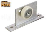 Shower Door Roller Assembly (3/4'' Dia.) (Wheel Flat Edge)
