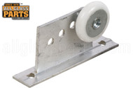 Shower Door Roller Assembly (7/8'' Dia.) (Wheel Oval Edge)