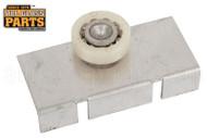 Shower Door Roller & Bracket (White) (2-1/2'' Length)