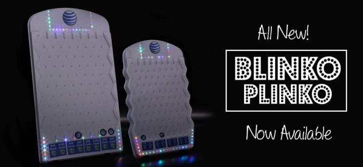 Lighted Plinko Games-Blinko Plinko