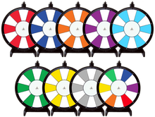24 Inch 2 Color Dry Erase Prize Wheel