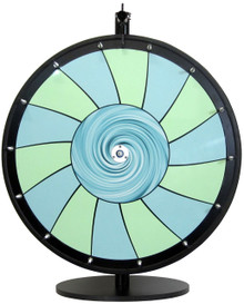 24 Inch Swirl Color Dry Erase Prize Wheel