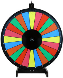 36 Inch Multicolor Dry Erase Prize Wheel