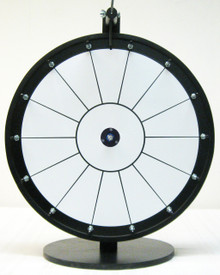 18 Inch Standard White Prize Wheel with 14 section lines
