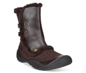 JBU Women's ICEBURG Boot  DARK BROWN