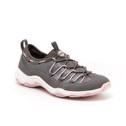 JSport by Jambu Women's TULSA Flat CHARCOAL/PETAL