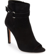 BCBGeneration CAROLENA Women Peep-Toe Suede Ankle Boot