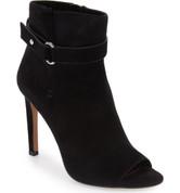 BCBGeneration CAROLENA Women Peep-Toe Suede Ankle Boot