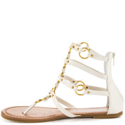 Penny Loves Kenny Women's MATRIX Sandal WHITE MATTE