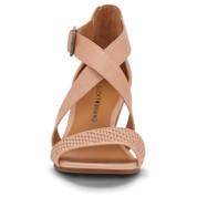 Lucky Brand Women's Jestah2 Leather Wedge Sandal