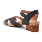Lucky Brand Women's philana Leather Open Toe Ankle Strap Sandal