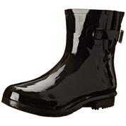 Nomad Women's Droplet Synthetic Waterproof Ankle Rain Boot