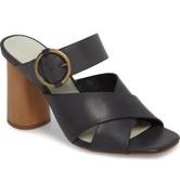 1.STATE Womens ICENDRA Flared Heel Mule Sandal