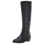 Lucky Brand Women's Lk-iscah Leather Memory Foam Round-Toe Fashion Boot