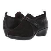 JBU by Jambu Women's Gail Leather Slip-On Monk-Strap Loafer