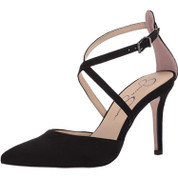 Jessica Simpson Women's Ambrie Synthetic Stiletto Pointy Toe Pump