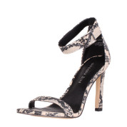 Madden Girl Women's Ara Synthetic Open Toe Ankle Strap Heeled Sandal