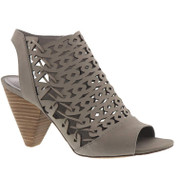 Vince Camuto Emberla Women's Leather Manmade Peep-Toe Slingback Sandal