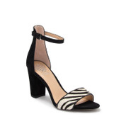 Vince Camuto Women's Corlina Leather Open Toe Ankle Strap Sandal