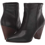 Lucky Brand Women's Lk-munise Leather Memory Foam Pointy Toe Ankle Boot