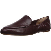 Lucky Brand Women's Bellana Leather Round-Toe Slip-On Loafer