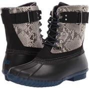 JBU by Jambu Women's Calgary Synthetic Man-Made Round toe Weather Rain Boot