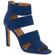 Jessica Simpson women's Cerina Anchors Down Blue Open Toe HIgh Heel Sandals